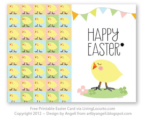 picture regarding Free Printable Easter Cards known as Totally free Printable Easter Card Valentine Easter Easter