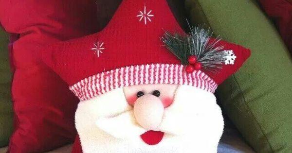 Cojin navidad | navidad | Pinterest | Navidad