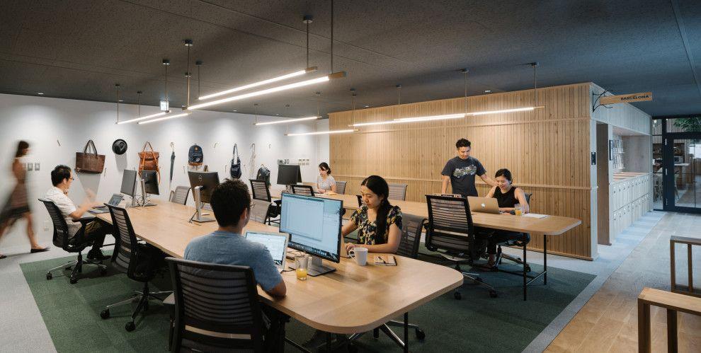 Airbnbの東京オフィスがおしゃれすぎて、社員じゃなくても働きたいレベル | オフィスのワークスペース ...