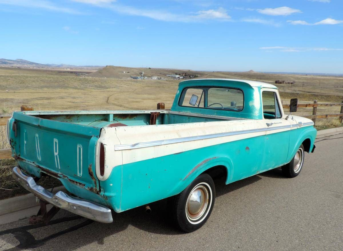 1963 ford f100 custom cab unibody for sale 1816177 hemmings motor news