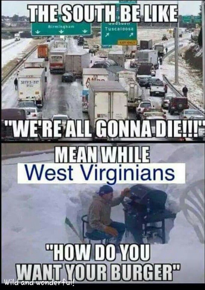 Meanwhile Winter In Wv Wv Funny Pictures Hilarious Funny