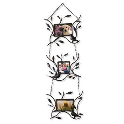 AdecoTrading Collage Wall Hanging 3 Opening Picture Frame