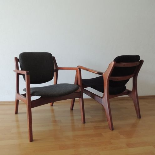 Van Beuren rrm chairs set by Muebles Domus, varnished in natural ...