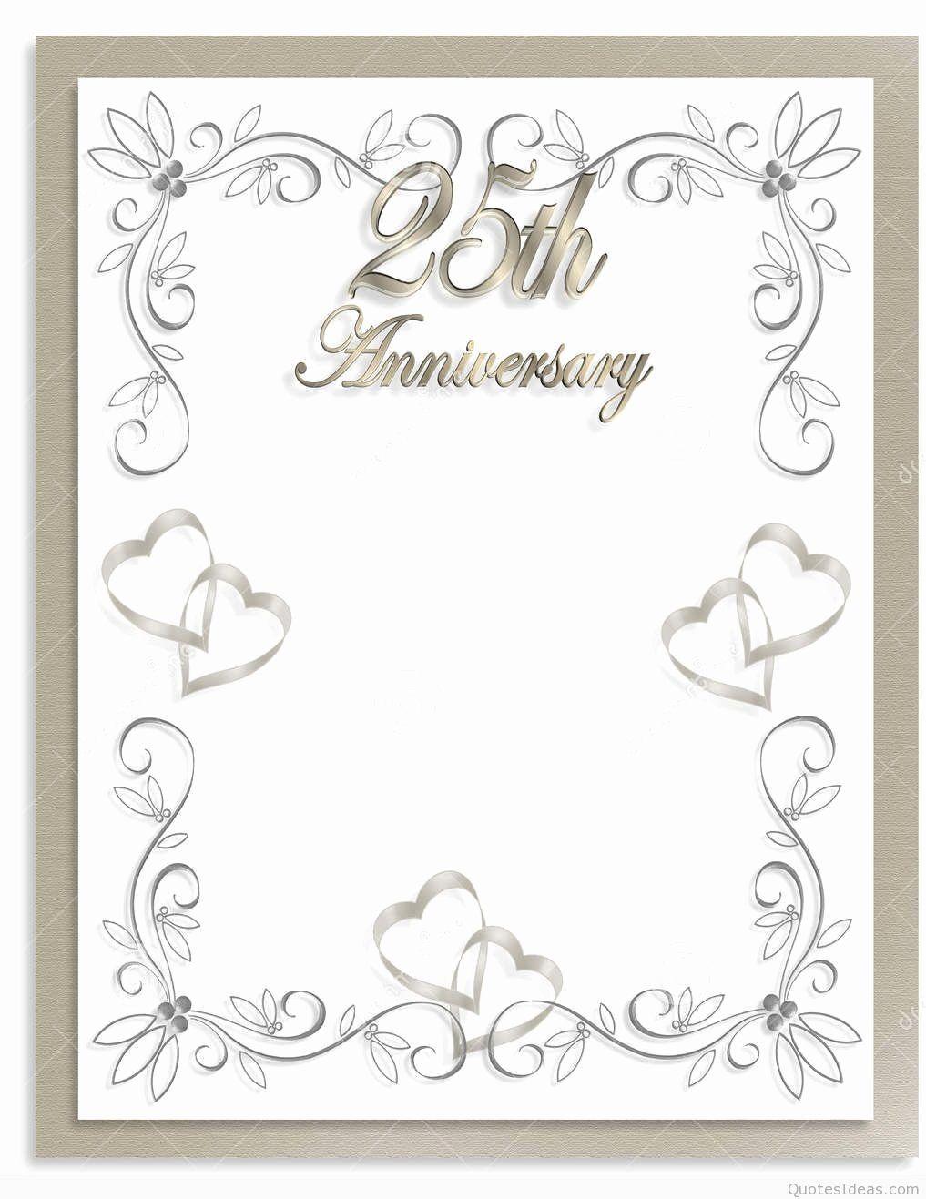 25th Wedding Anniversary Invitations Templates Unique 50th Wedding Anniversary Invitations 25th Wedding Anniversary Invitations Wedding Anniversary Invitations