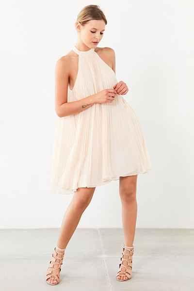 a5426b974d64 Keepsake Clarity Baby Pleat Mini Dress - Urban Outfitters