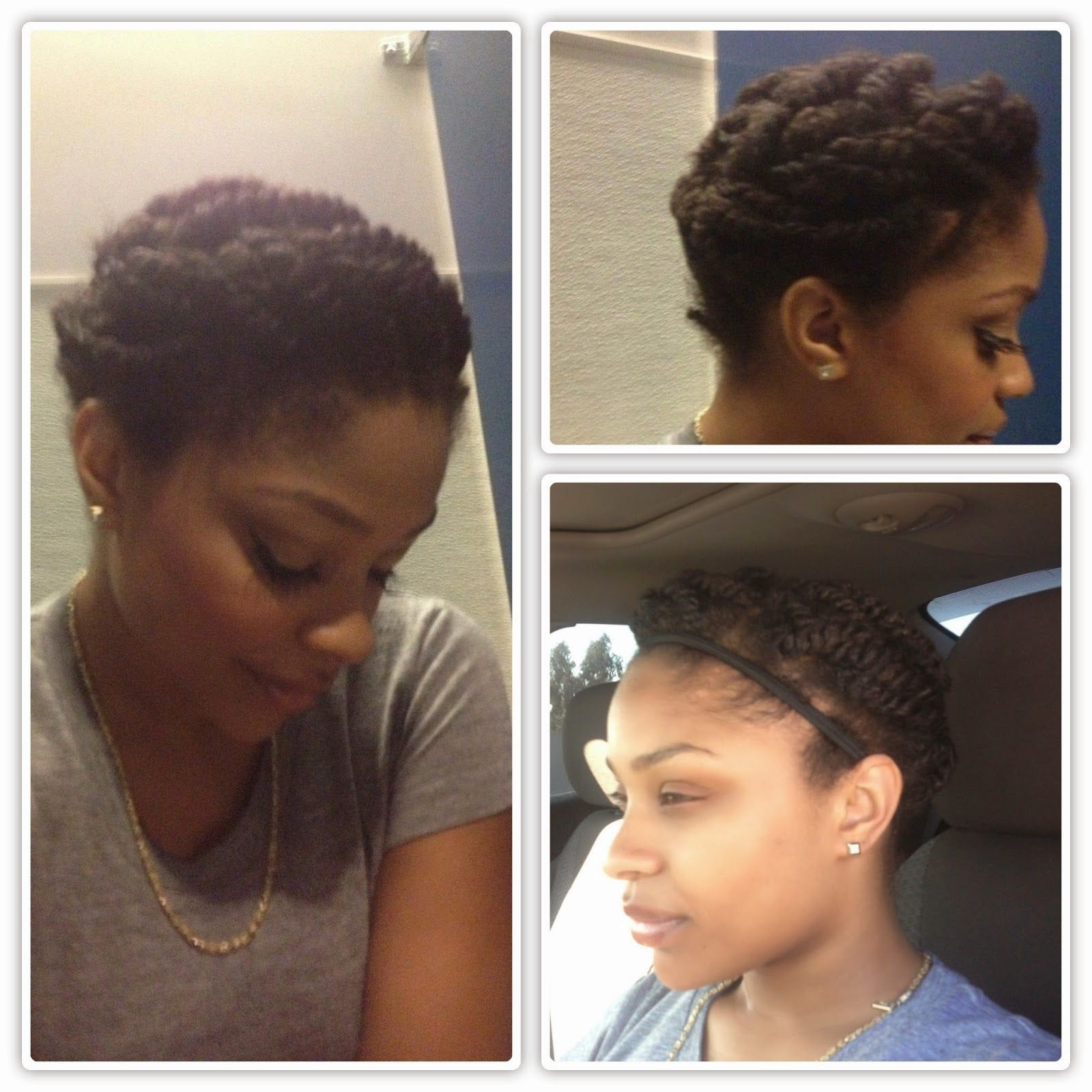Protective Style For Awkward Length Hair Stages Natural Hair Styles Short Natural Hair Styles