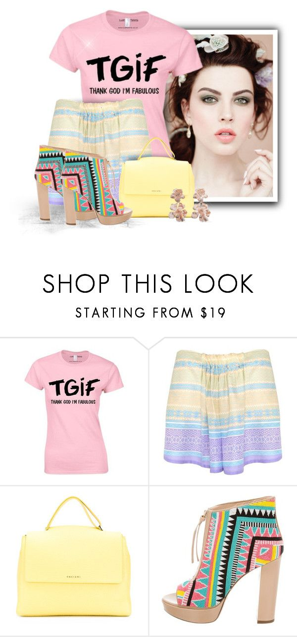 """""""TGIF"""" by majezy ❤ liked on Polyvore featuring Lalesso, Orciani, Jerome C. Rousseau and Oscar de la Renta"""
