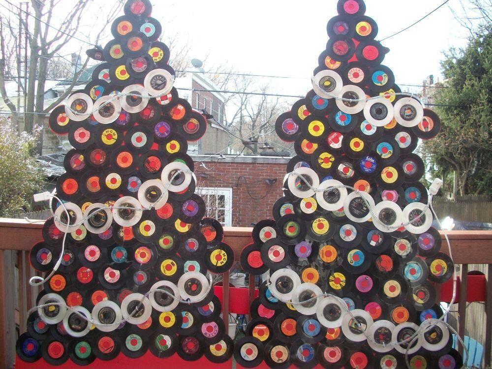 Vintage Vinyl Lp Record Coasters