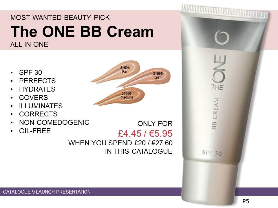 oriflame 8-in-1 BB Cream (Blemish Balm) with skincare and make-up