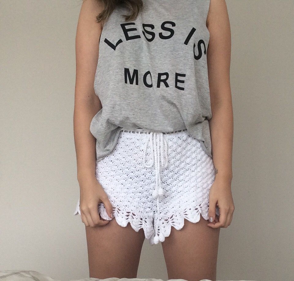 T-shirt: Less is more.
