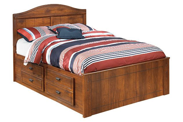 Barchan Full Panel Bed With Storage By Ashley Homestore Brown