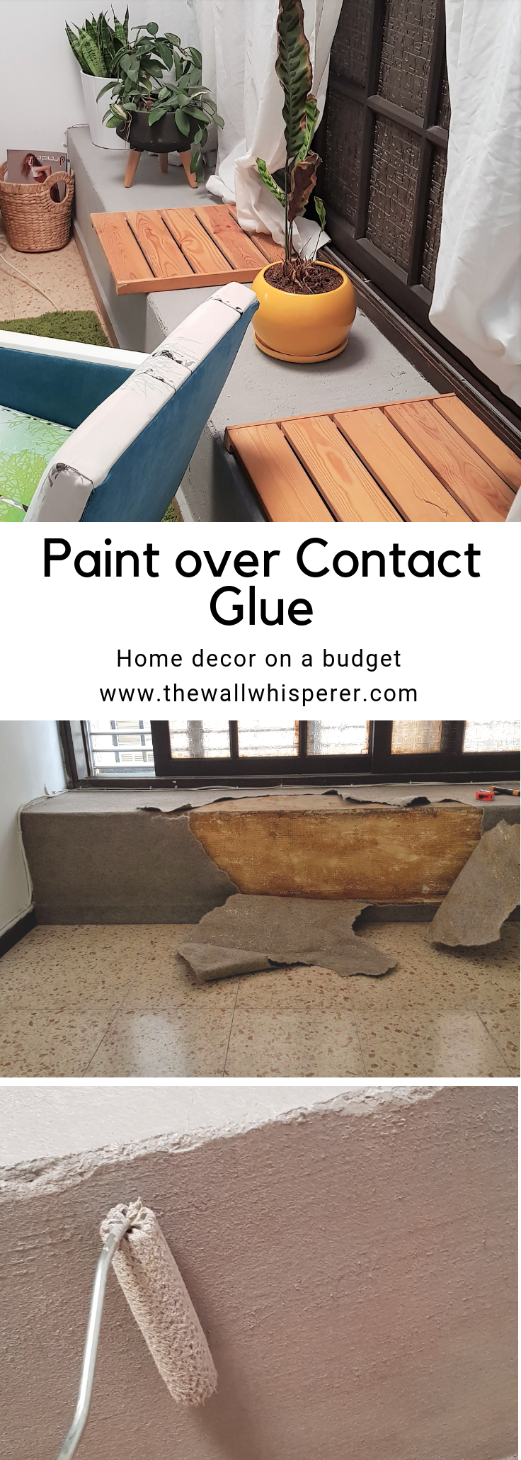 Cement Bench Paint Over Contact Glue What To Do When You Can T Remove Contact Glue With Images Cement Bench Cement Crafts Farmhouse Diy