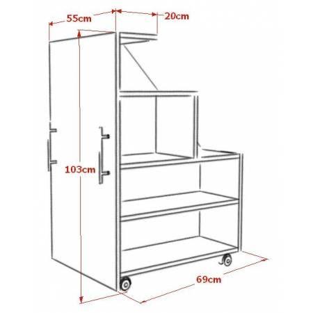 caisson sous combles tag res sur mesure id es. Black Bedroom Furniture Sets. Home Design Ideas