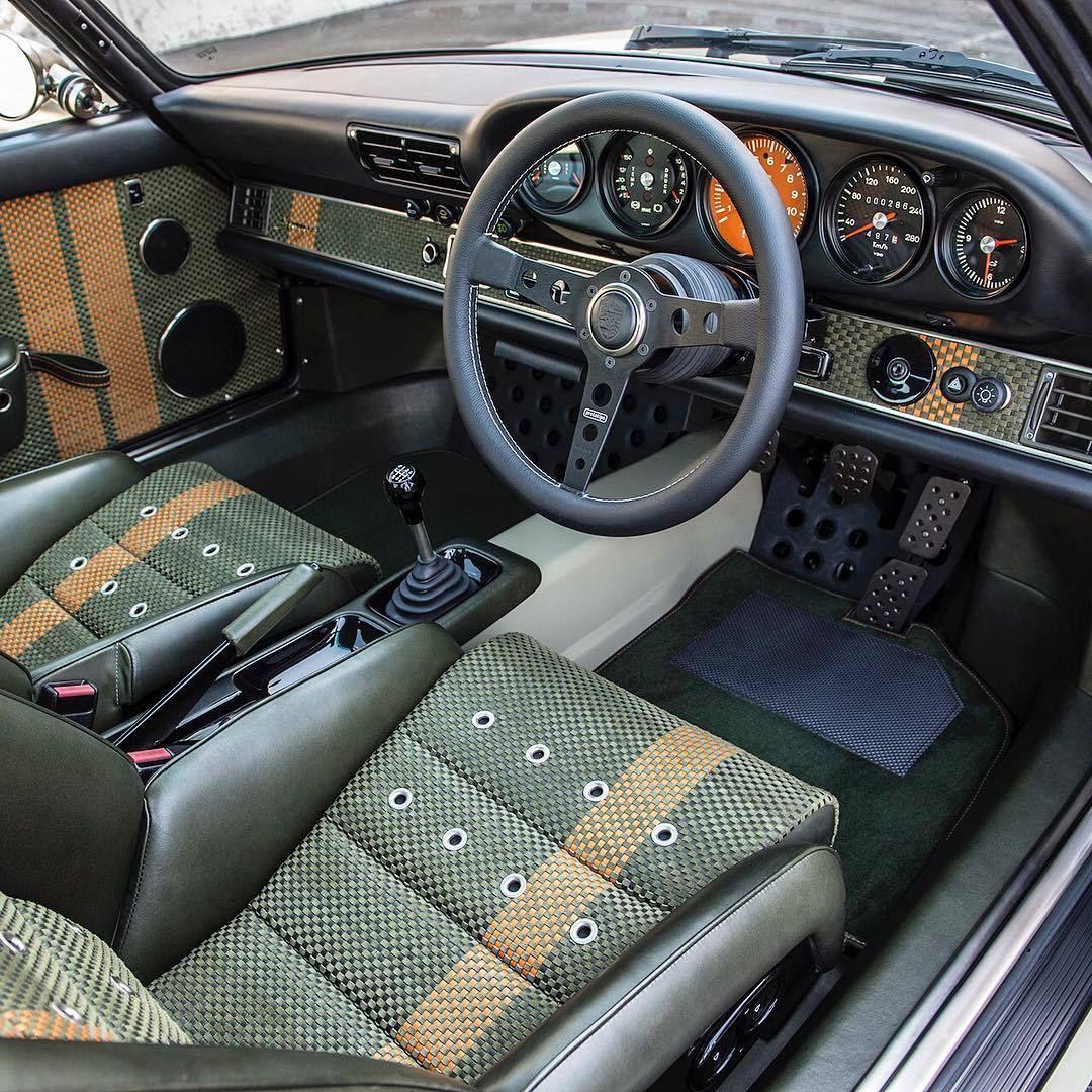 Farnham Van Sales Used Cars In Surrey: Singer #Porsche Customized Interior