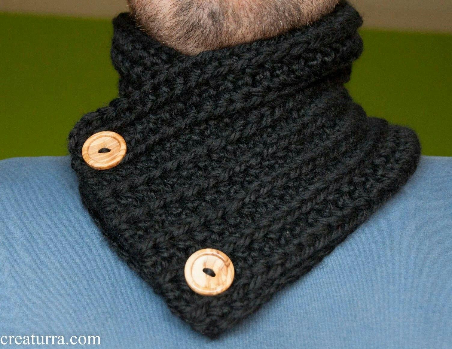 bastante agradable 73f20 3aafa Pin de Jaqueline Sierra en cuellos | Bufanda tejida para ...