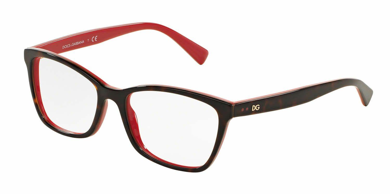 5b59a19d5905 Dolce Gabbana DG3242 Eyeglass Frames 501-48 - Black