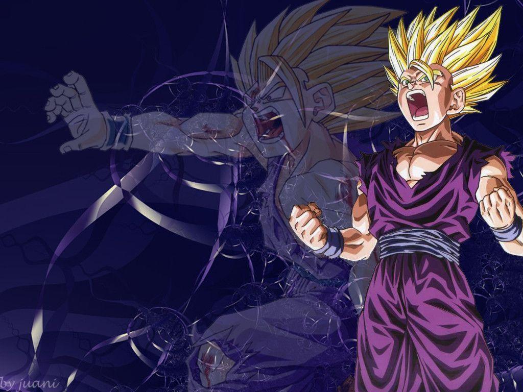Dragonball Gohan Ssj Transformation Anime Wallpapers Zone