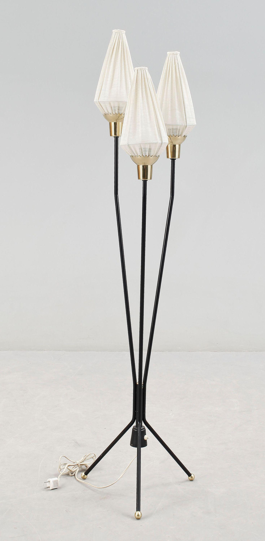 Swedish Floor Lamp 1960 S Vintage Bauhaus Retro Mid Century Vintage Lamps