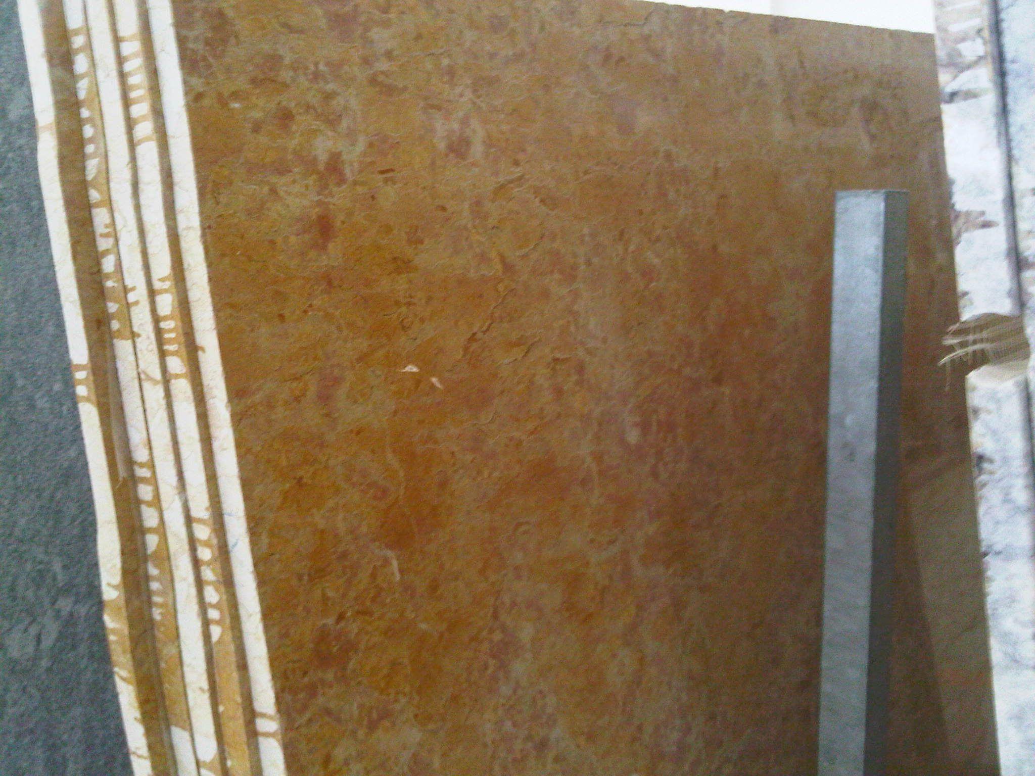 #Lastre di #gialloreale #marmo #arredamento #pietra