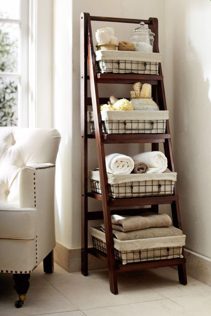 brown bathroom shelving ideas | Bathroom Shelving Ideas Two Tone Floral Pattern Shower ...