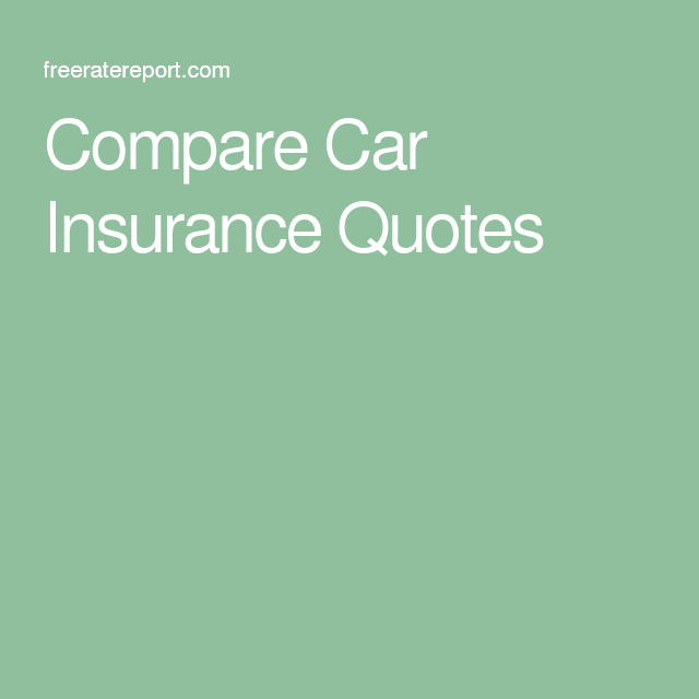 Low Car Insurance Quotes: 25+ Best Car Insurance Quotes Compare On Pinterest