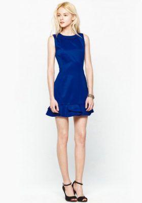 Vestido azul u adolfo dominguez