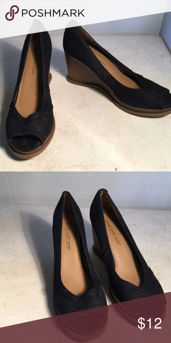 72f9e56b6 Lower East Side Peep Toe Wedge Lower East Side Peep Toe Wedge LOWER EAST  SIDE Shoes Wedges