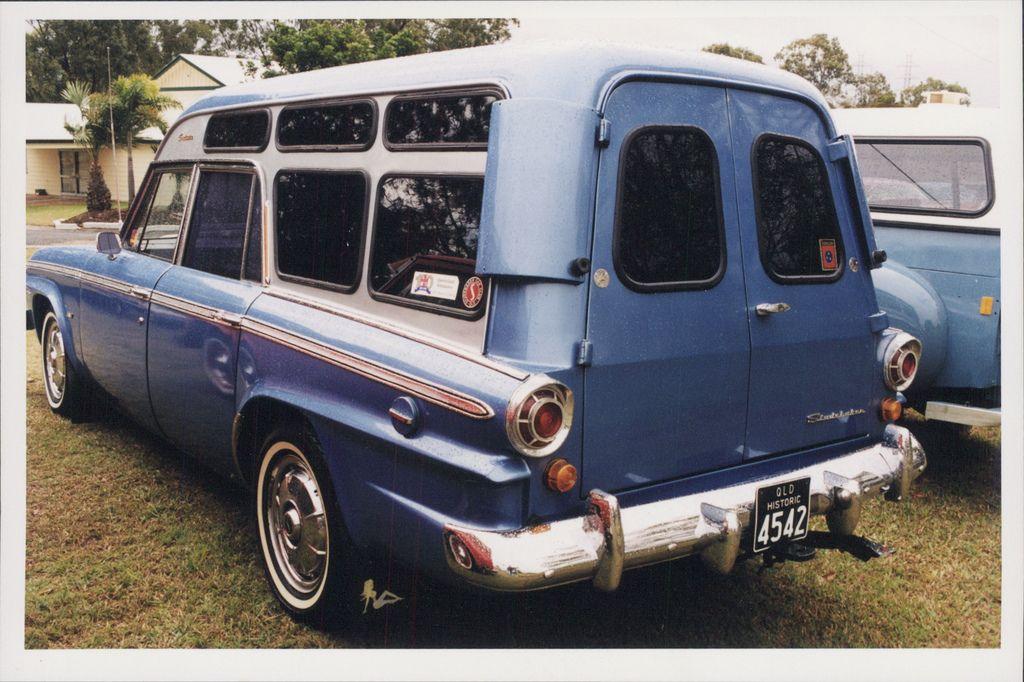 Studebaker Lark, ex Qld Ambulance (Australia)