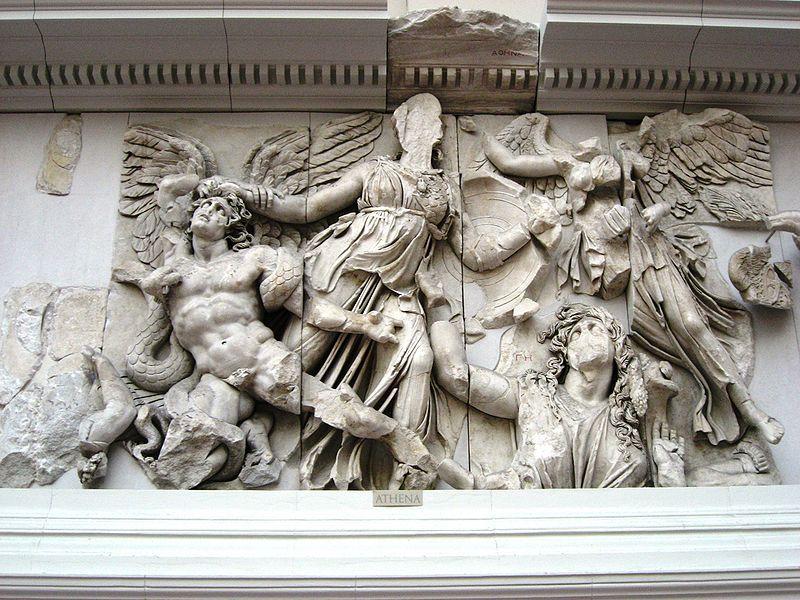 Pergamon Altar Ancient Greek Art Hellenistic Art Pergamon