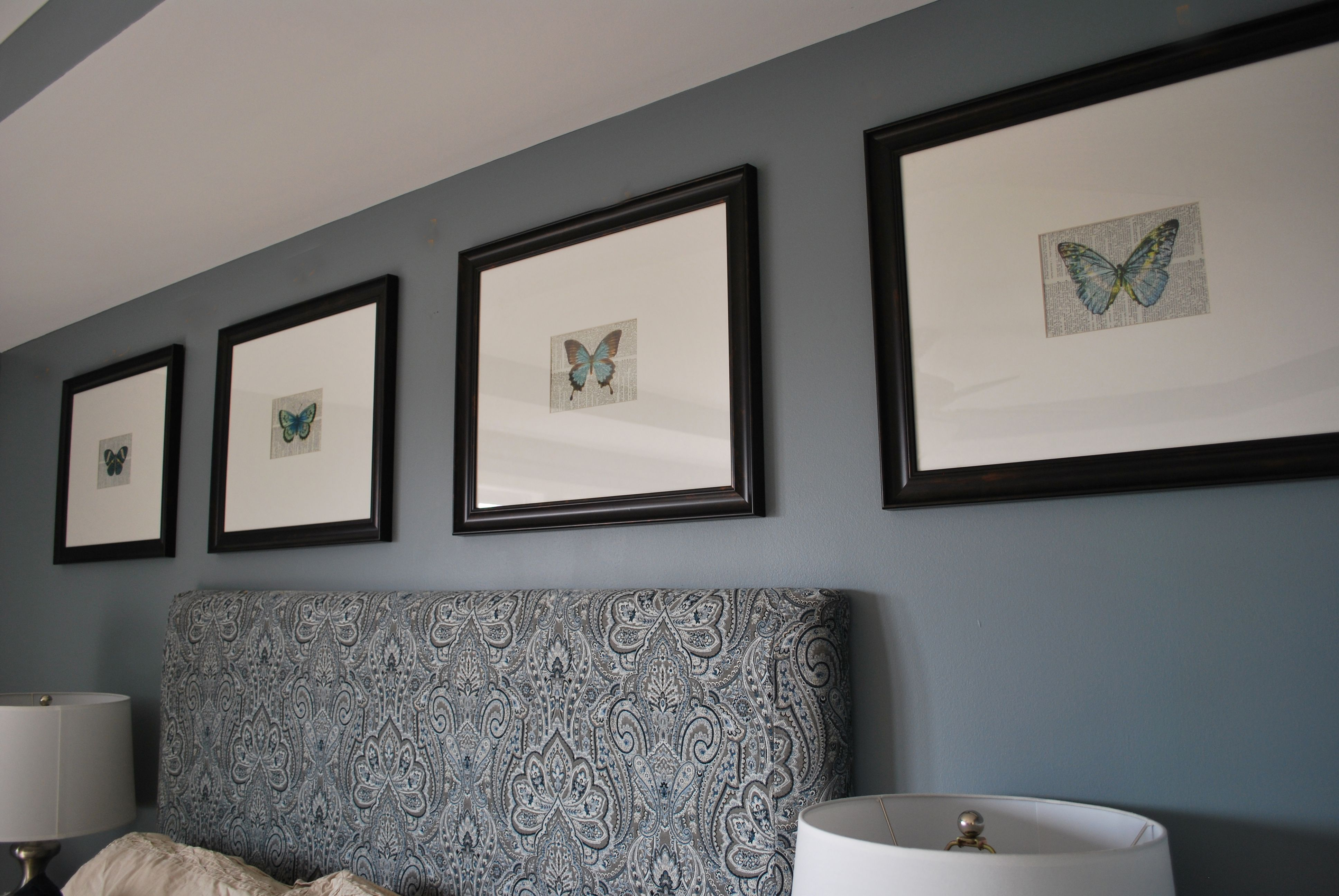 Valspar Sharkfin paintlooking for the perfect gray blue for the