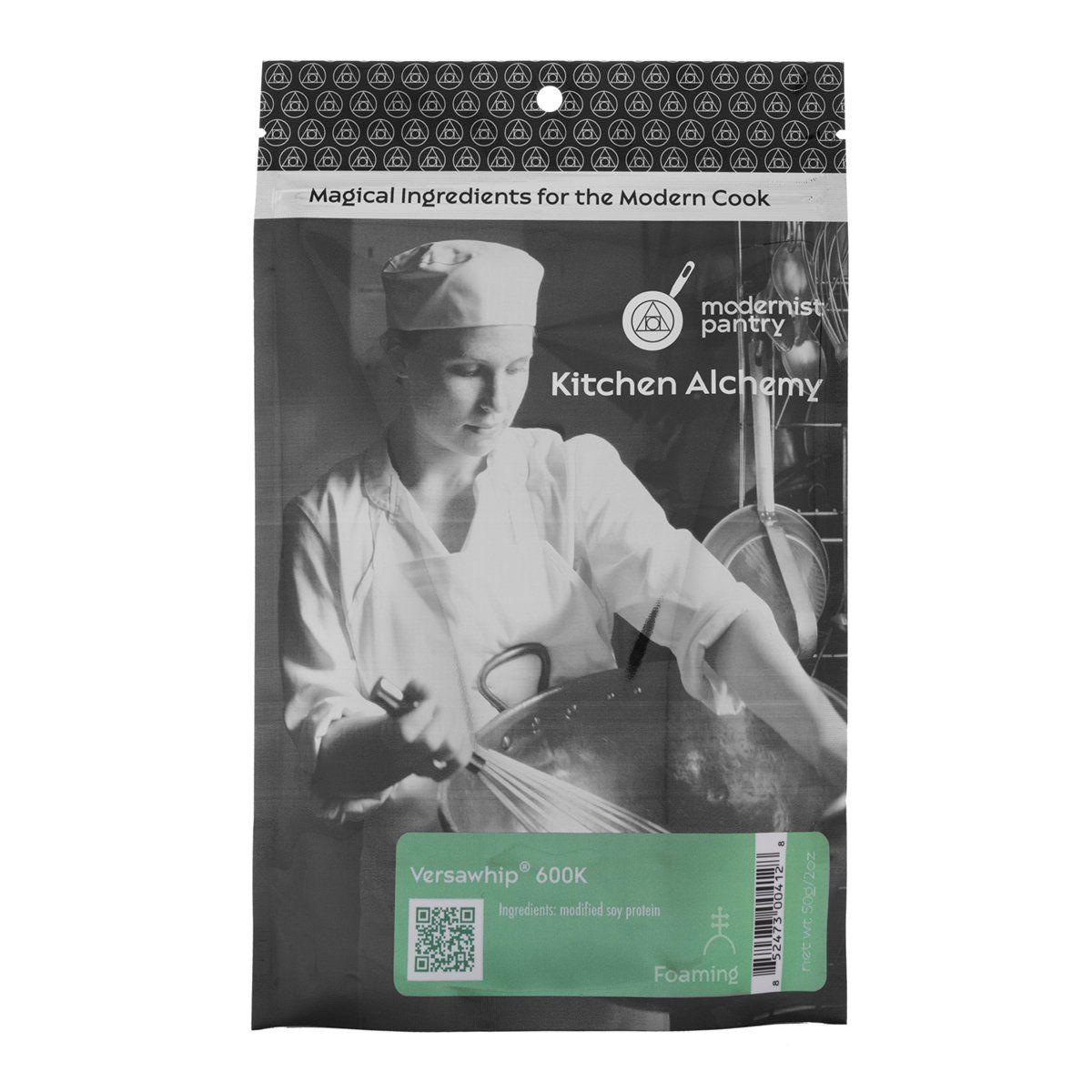 Amazon.com : Food Grade VersaWhip® 600K (Molecular Gastronomy) - 50g/2oz : Gelatin Dessert Mixes : Grocery & Gourmet Food