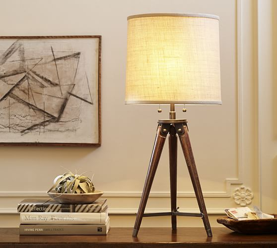 Like This But For A Floor Lamp Perhaps.... Gibson Tripod Table Lamp