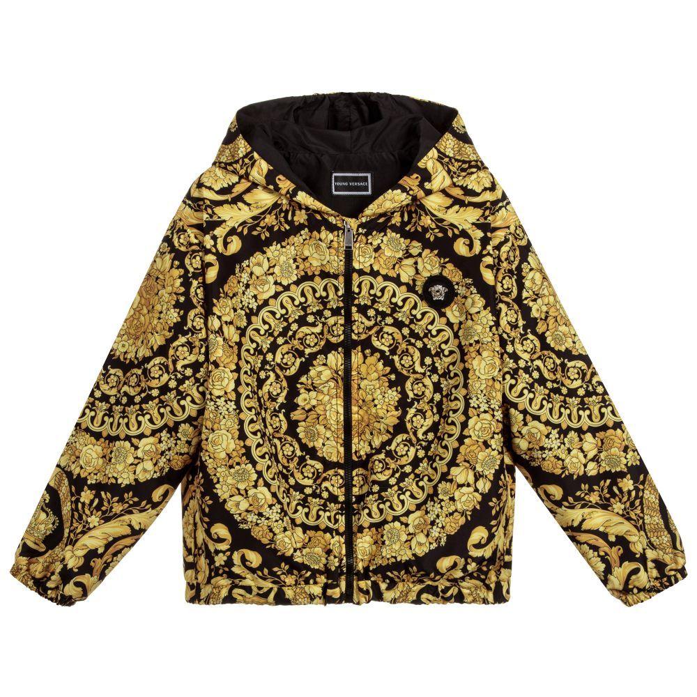 97ef4971f63f Young Versace - Boys Gold BAROQUE Jacket