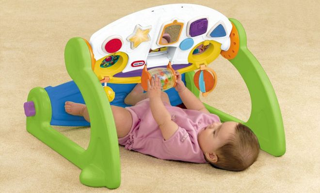 Little Tikes 5 In 1 Adjustable Gym Only 29 Regularly 46 Best