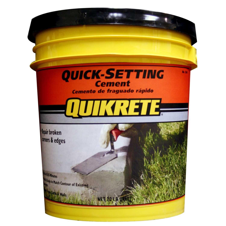 Quikrete Fast Setting Concrete Mix 20 Lb Ace Hardware Fast Setting Concrete Concrete Mixes Cement