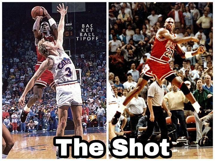 【經典回顧】The Shot!NBA历史最著名绝杀  乔丹空中悬停狙击克利夫兰!(影)