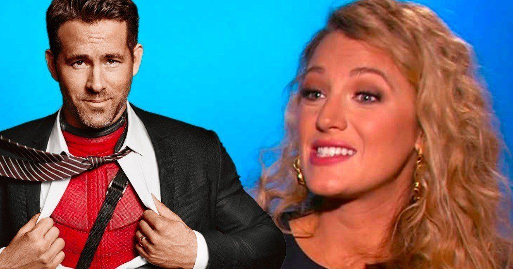 Ryan Reynolds Savagely Trolls Wife Over Hideous Movie Makeover -- Ryan Reynolds mocks his wife Blake Lively as she undergoes a less than attractive makeover for her latest movie. -- http://movieweb.com/ryan-reynolds-mocks-wife-blake-lively-rhythm-section-movie-set/