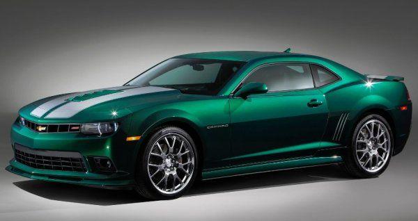 Emerald Green Metallic Special Spring Edition 2015 Chevy Camaro ...