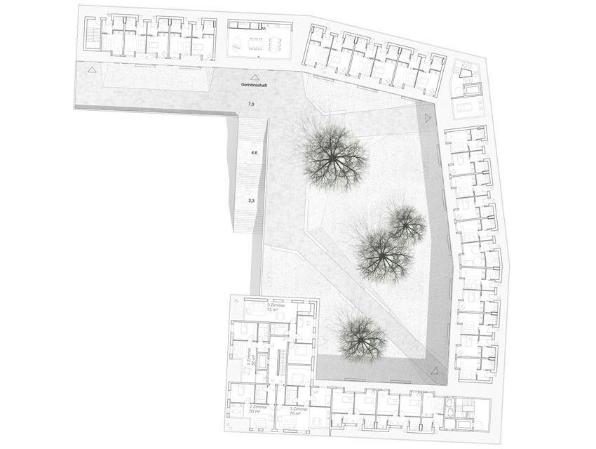 Landschaftsarchitektur München lärmschutzbebauung am innsbrucker ring in münchen ver de