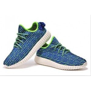 adidas yeezy 350 impulso puntini blu uomini adidas yeezy impulso 350