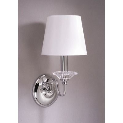 10260 laura ashley lighting battersby wall sconce with classic 10260 laura ashley lighting battersby wall sconce with classic white shade in satin nickel aloadofball Choice Image