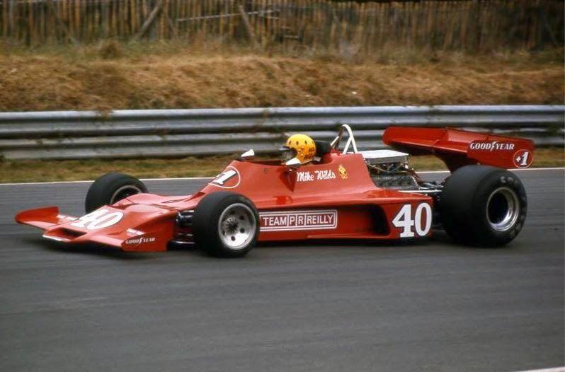 Season 1976 ...  British GP - circuit of Brands Hatch ...  Mike Wilds - Team PR Reilly - Shadow DN3 -