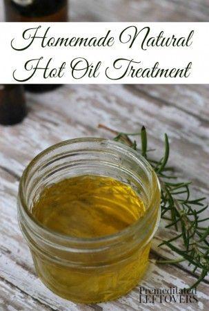 DIY Hot Oil Treatment for Hair