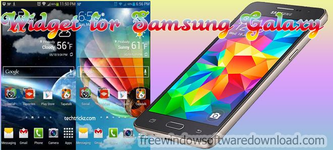 widget for samsung galaxy android crack