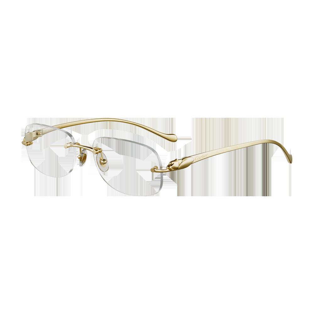 633b4d1a03 C Decor Classic - Platinum finish metal - Fine Prescription glasses for men  - Cartier
