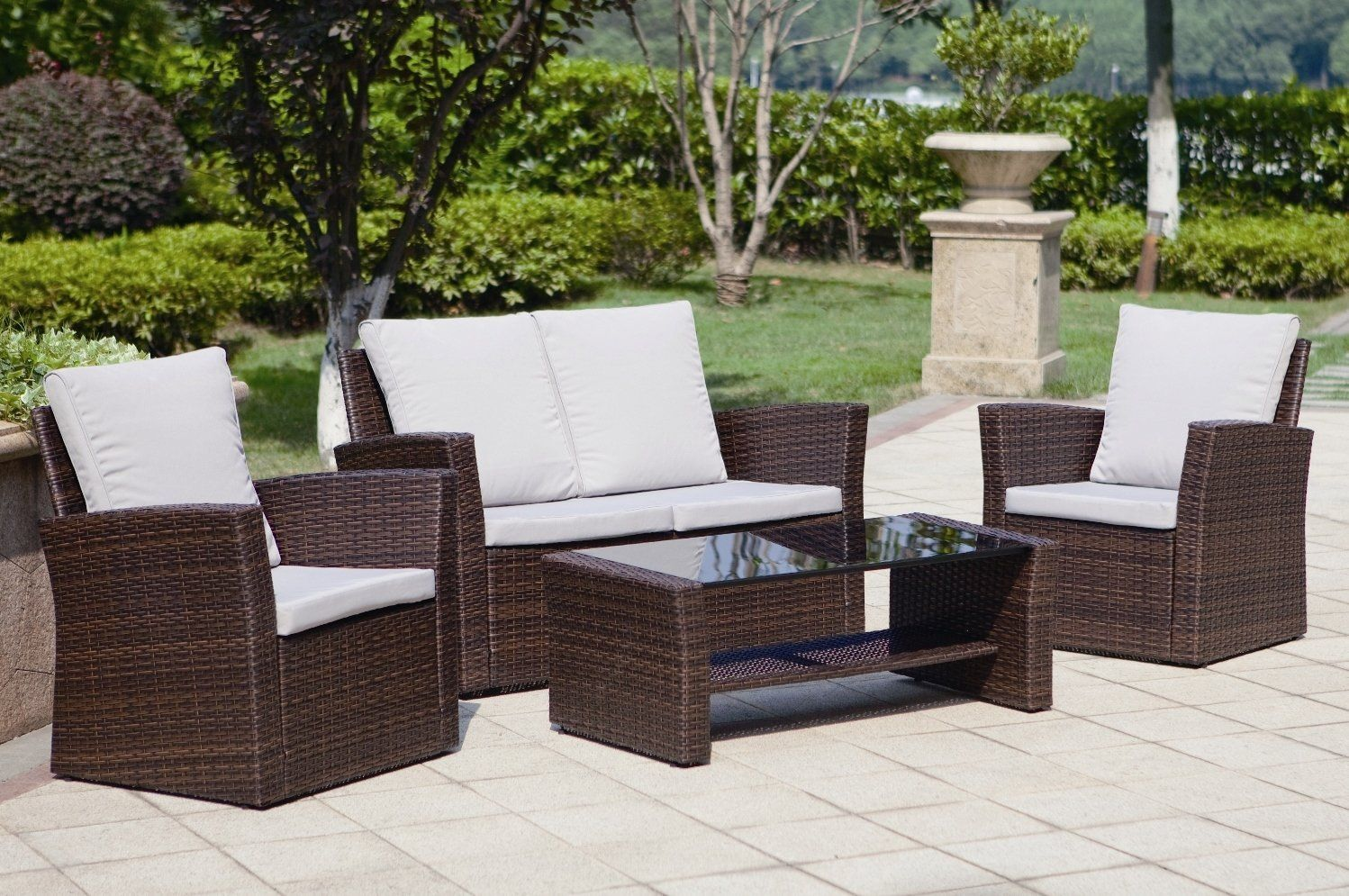pin by abreo rattan garden furniture on grey rattan garden