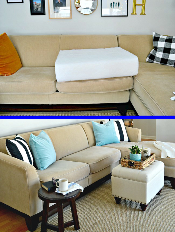 Bud Fixes For Sagging Sofas