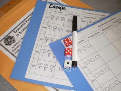 Standard Formexpanded Form Activity Math Ideas Pinterest