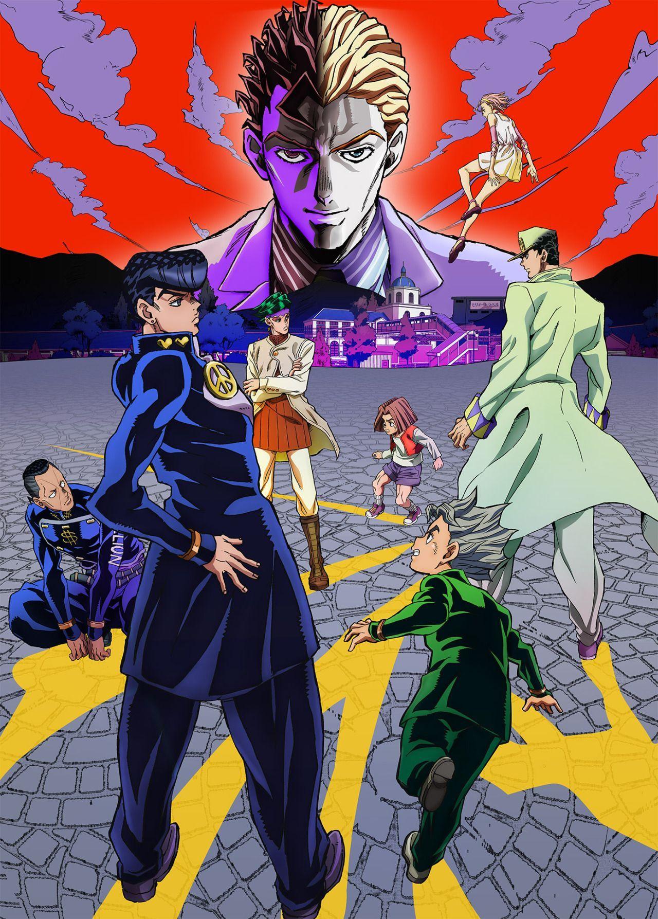 Jojo Bizarre Adventure Anime Jojo S Bizarre Adventure Anime Jojo Bizarre Jojo Bizzare Adventure