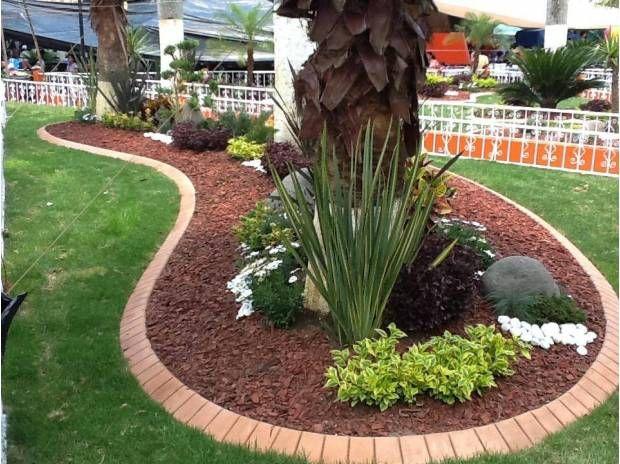 tezontle en jardines - Buscar con Google jardín huerta Pinterest - jardines modernos